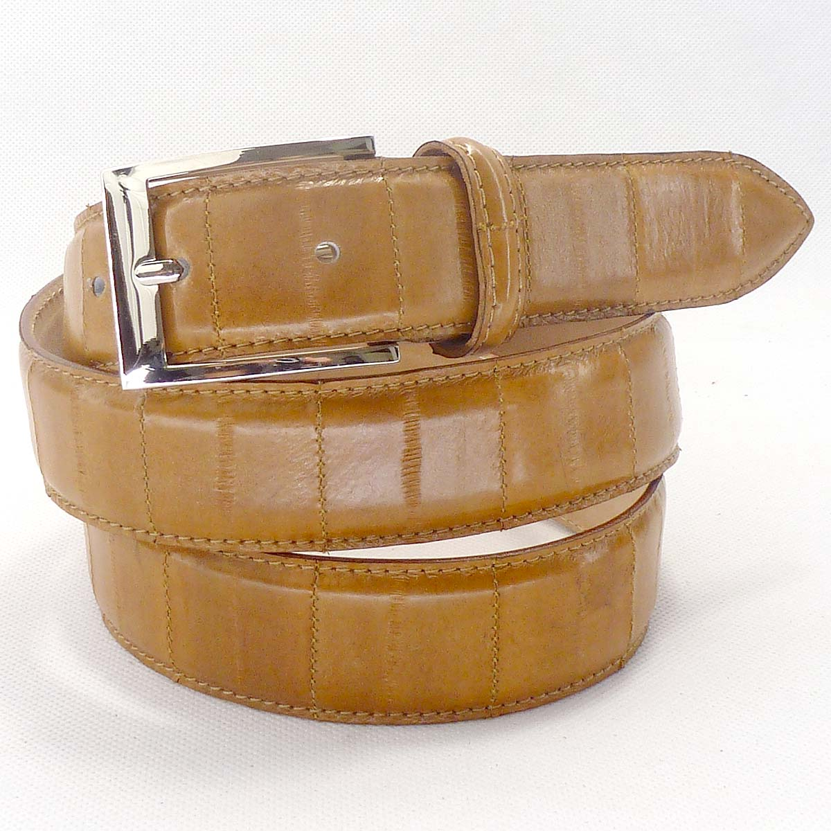 6335 real eelskin belt by Bottega Fiorentina