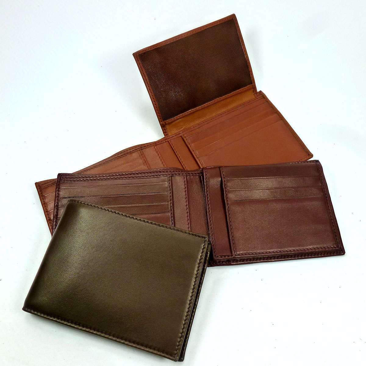 1369 men's wallet flap italian id 11 slots cards by Bottega Fiorentina