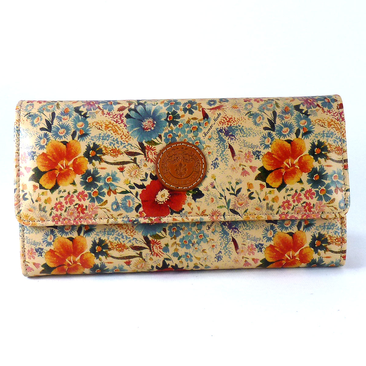 1692 Woman wallet with bellows by Bottega Fiorentina