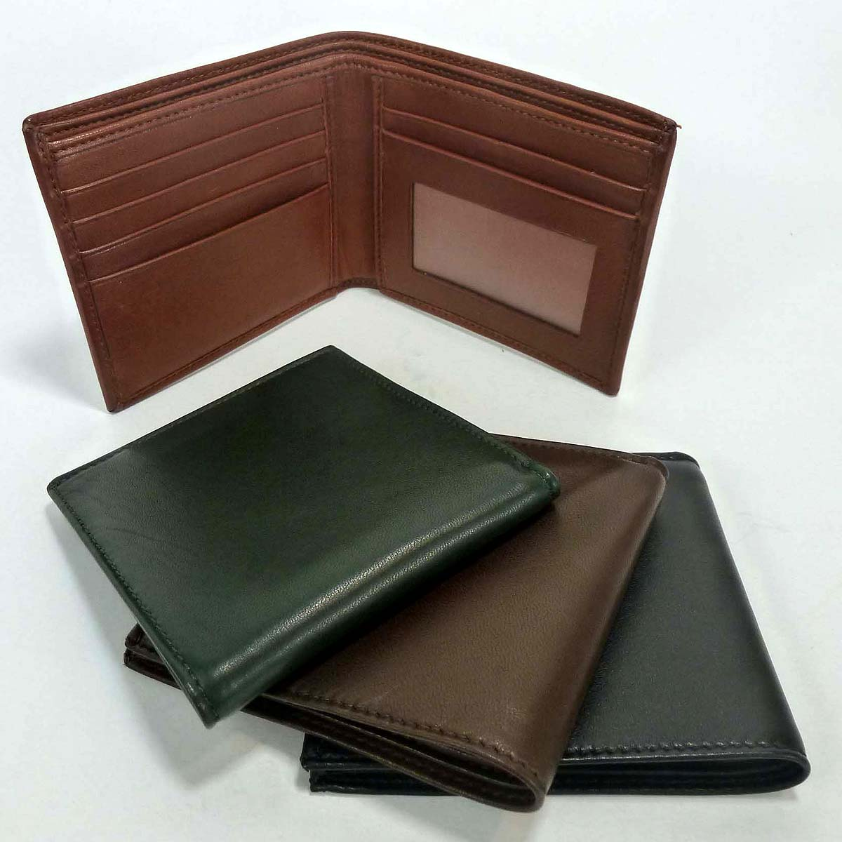 1313 men's wallet 5 cards with window by Bottega Fiorentina
