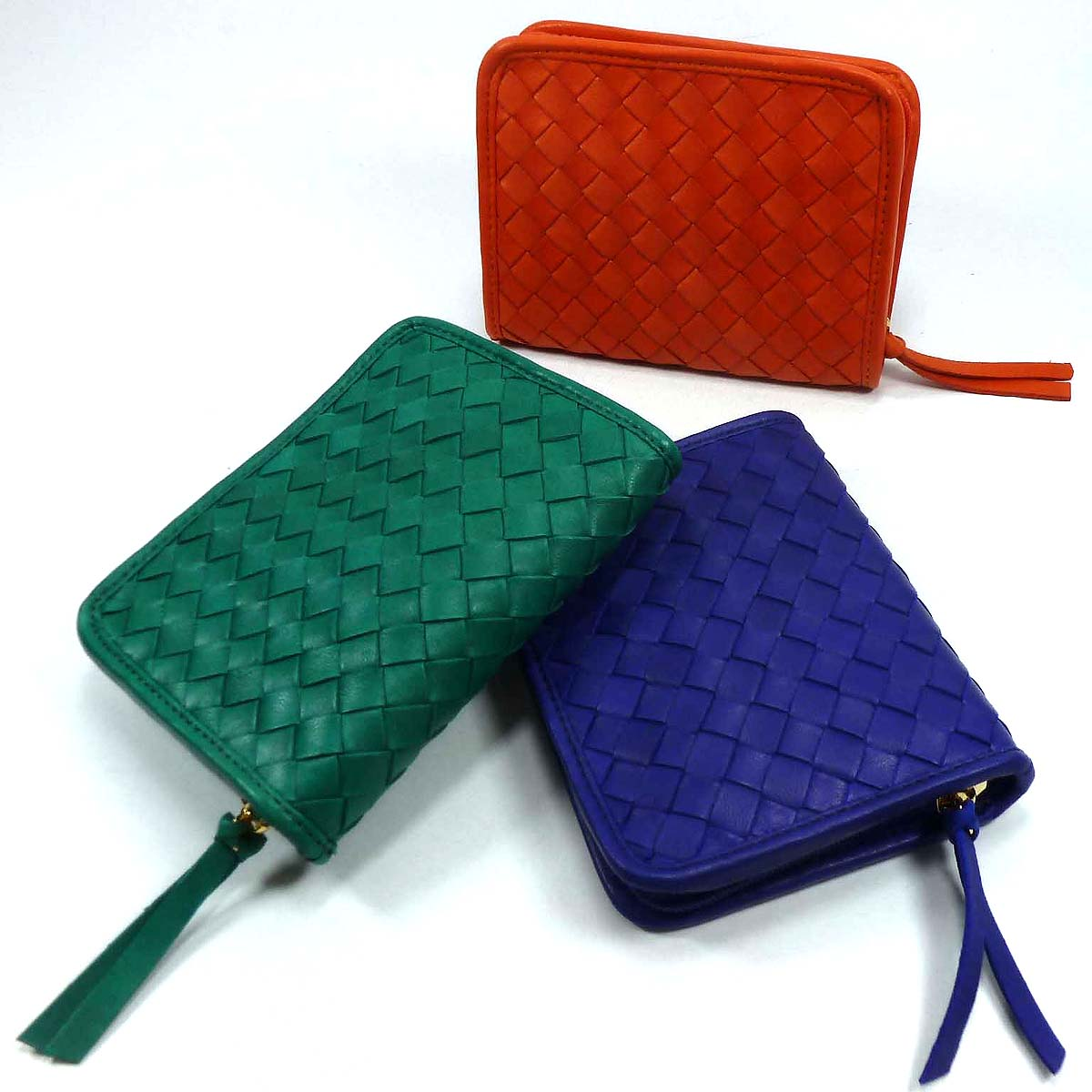 1696 wallet zip top compact woman by Bottega Fiorentina