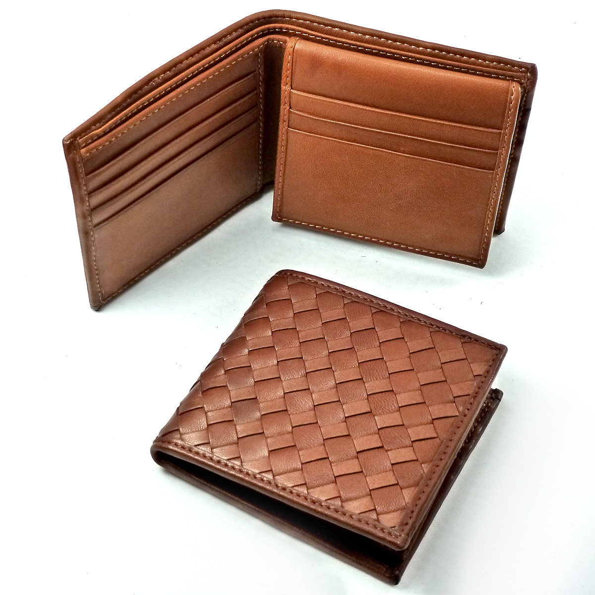 1322 men's wallet 11slot cards by Bottega Fiorentina