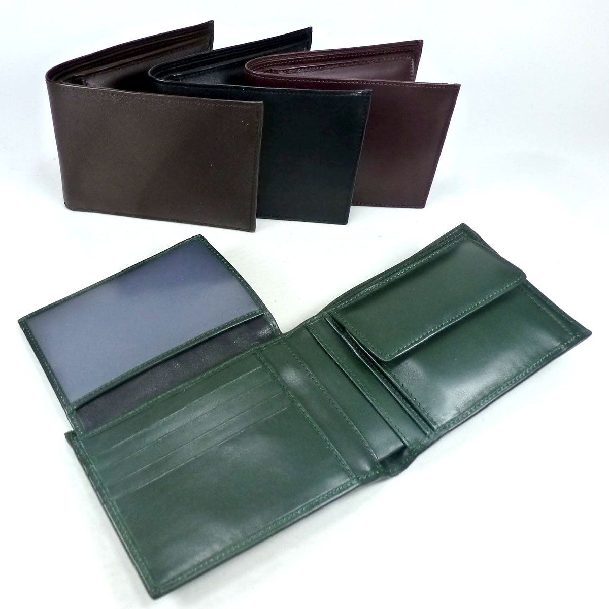 1372 Leather wallet by Bottega Fiorentina