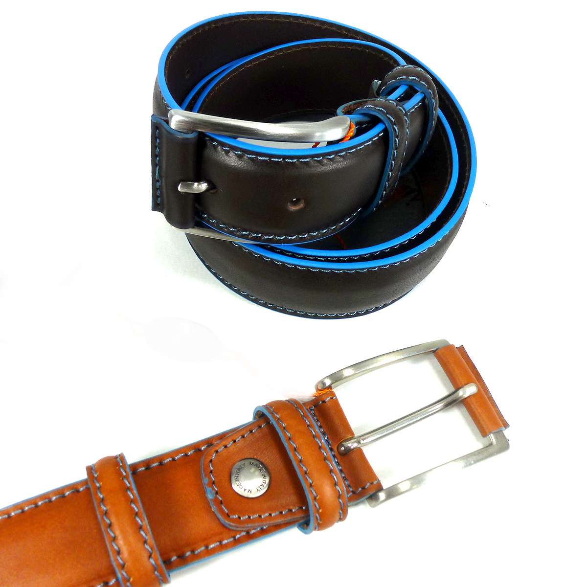 6242135 Double belt loops by Bottega Fiorentina