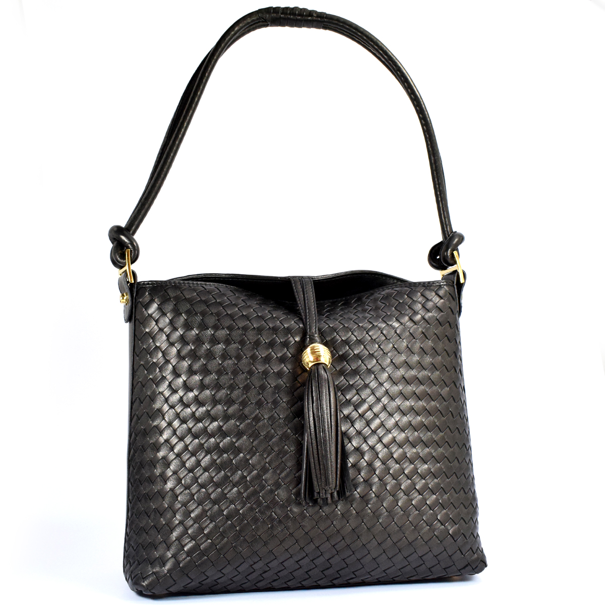 12201 OVER SHOULDER BAG ZIP TOP by Bottega Fiorentina