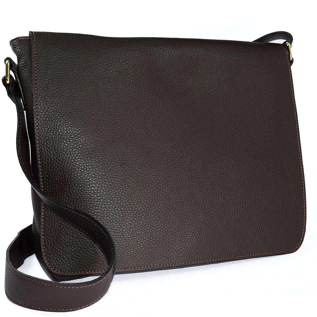 12739 messanger bag with big flap by Bottega Fiorentina