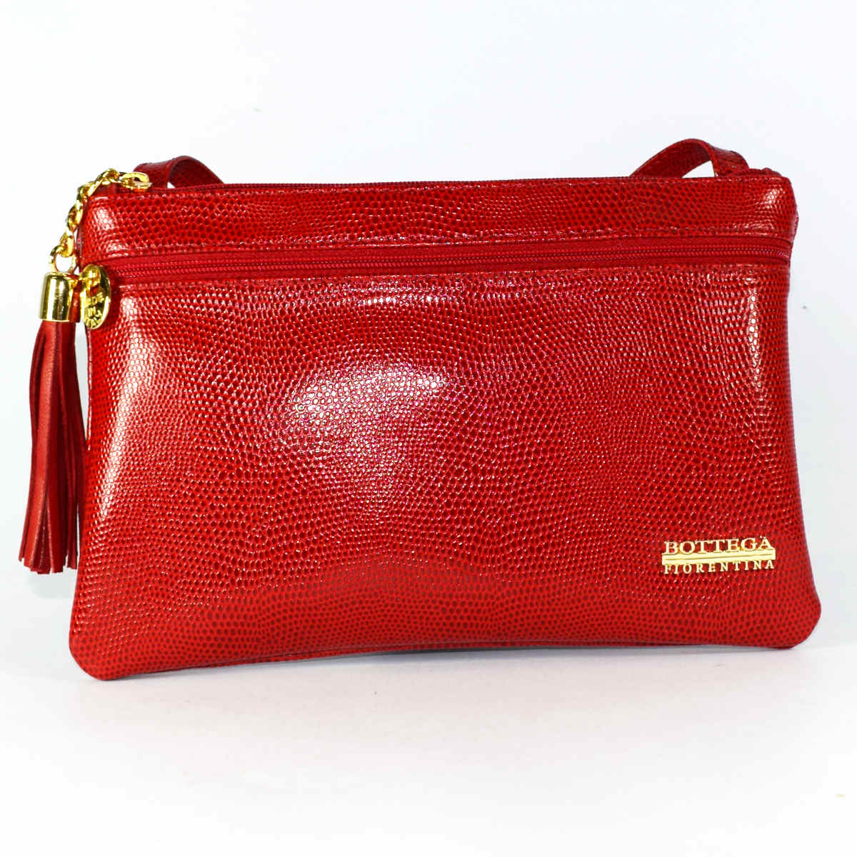 1773 RECTANGULAR SHOULDER BAG by Bottega Fiorentina