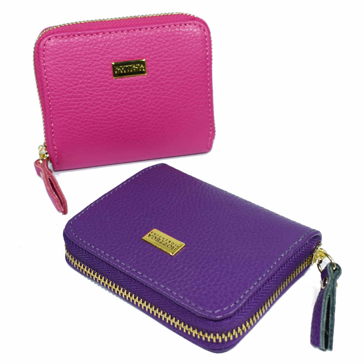 1609 ZIP TOP COMPACT ZIP WALLET by Bottega Fiorentina