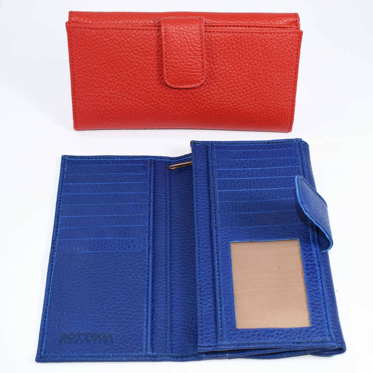 1632 WALLET WITH FLAP by Bottega Fiorentina