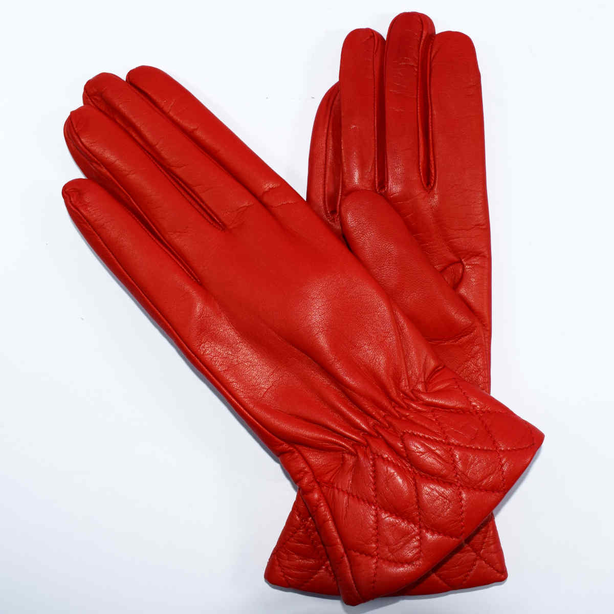 5O24 GLOVES WOMAN QUILTED EDGE by Bottega Fiorentina