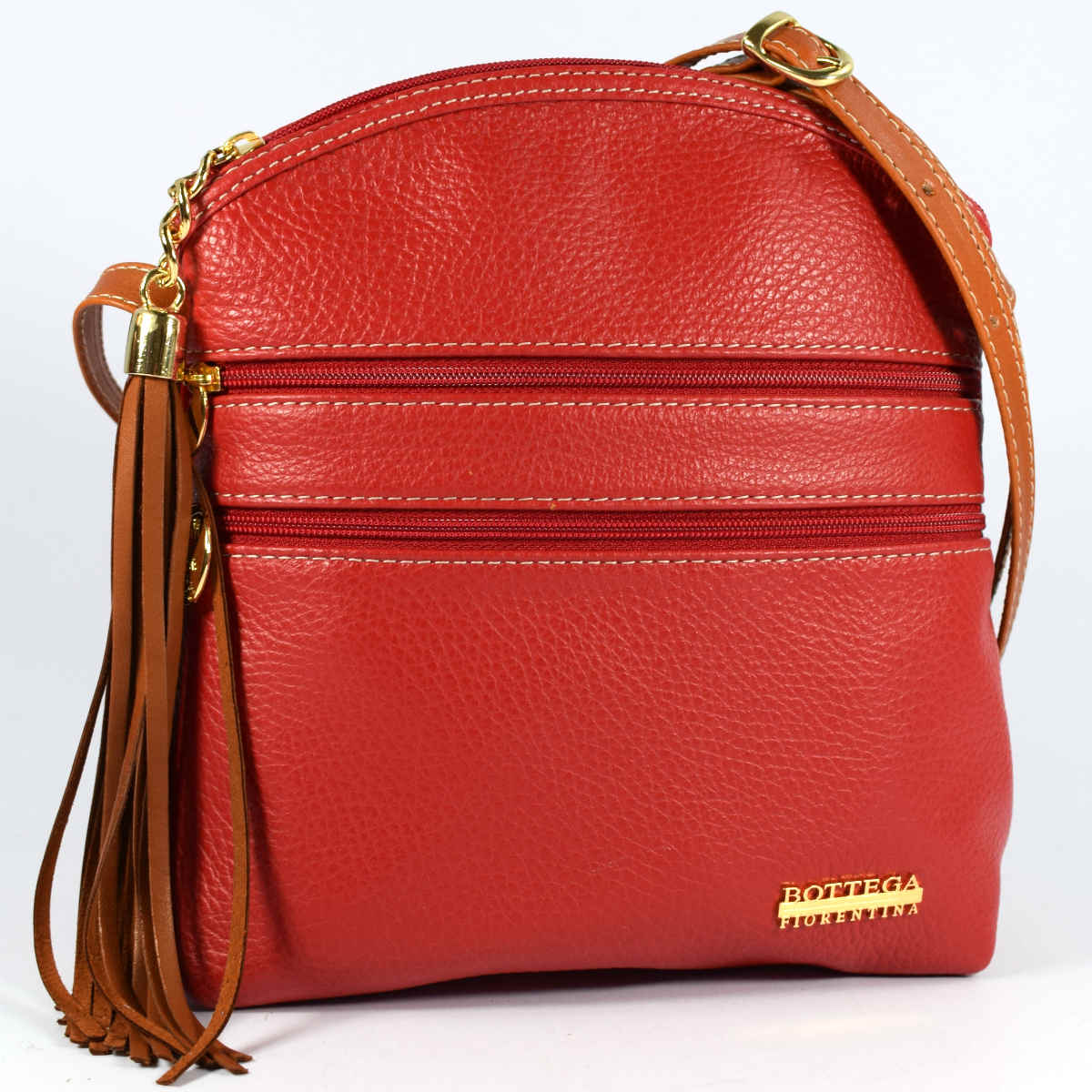 1963 ROUNDED SHOULDER BAG by Bottega Fiorentina