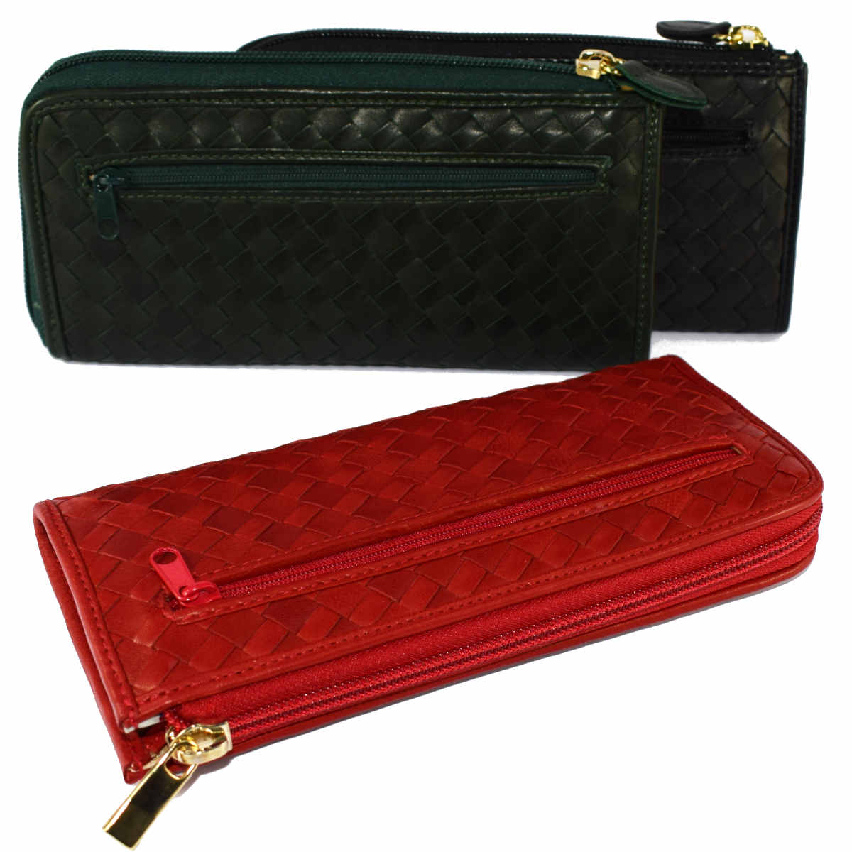 1687 WOVEN WALLET by Bottega Fiorentina