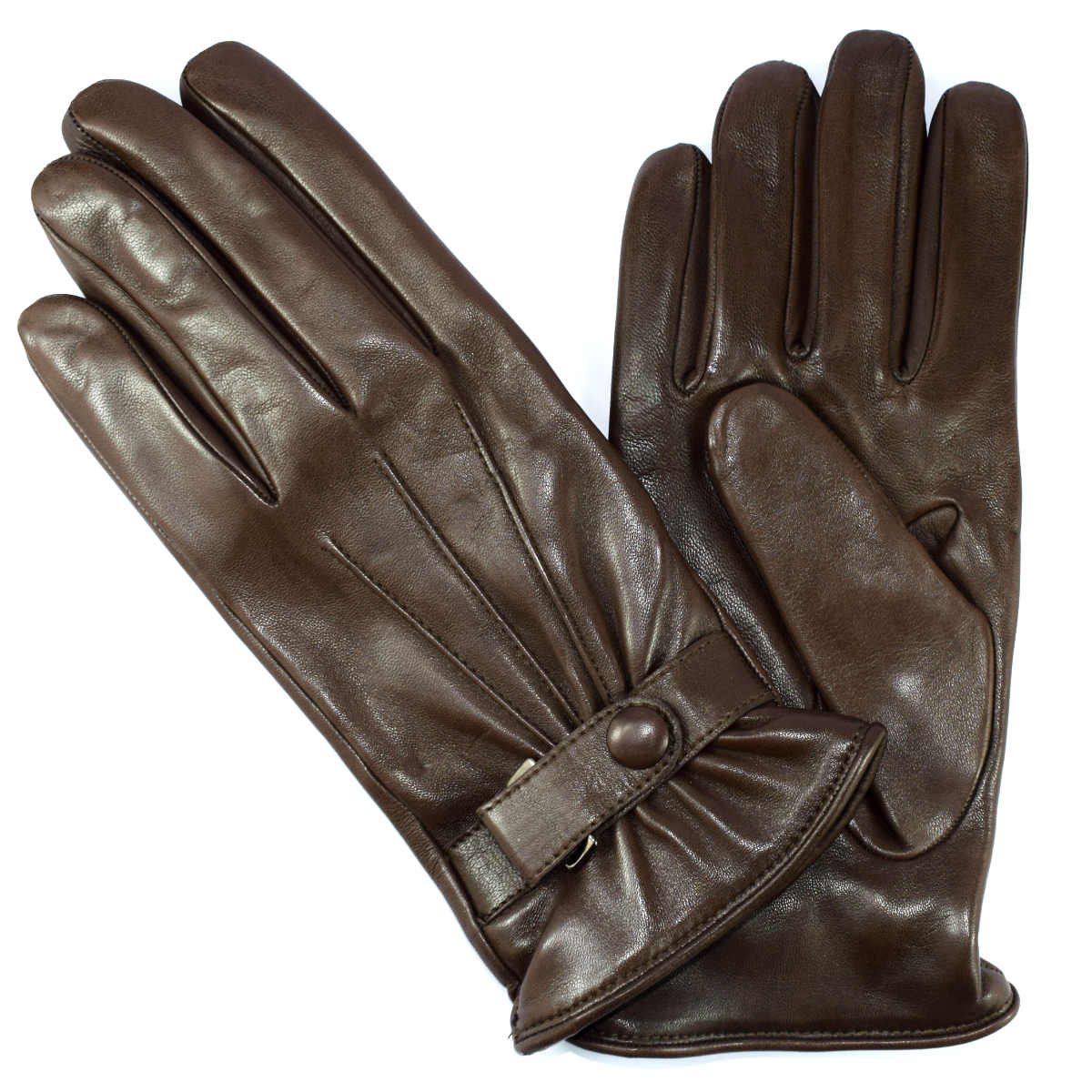 5C100  MAN GLOVE WITH LACE by Bottega Fiorentina