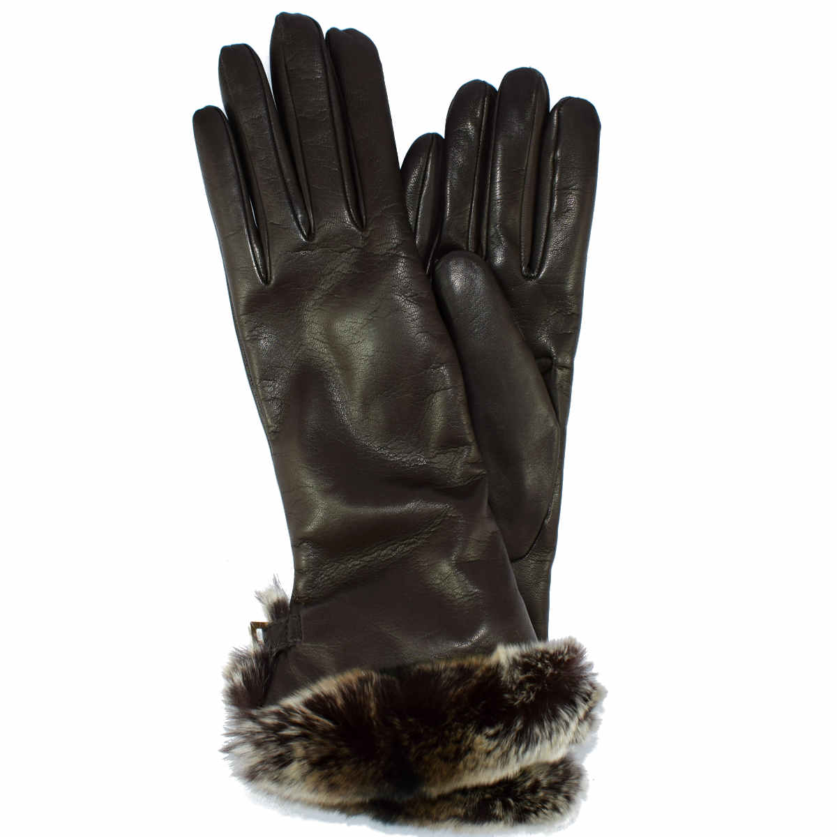5E74 FUR GLOVE AND WRIST LACE by Bottega Fiorentina