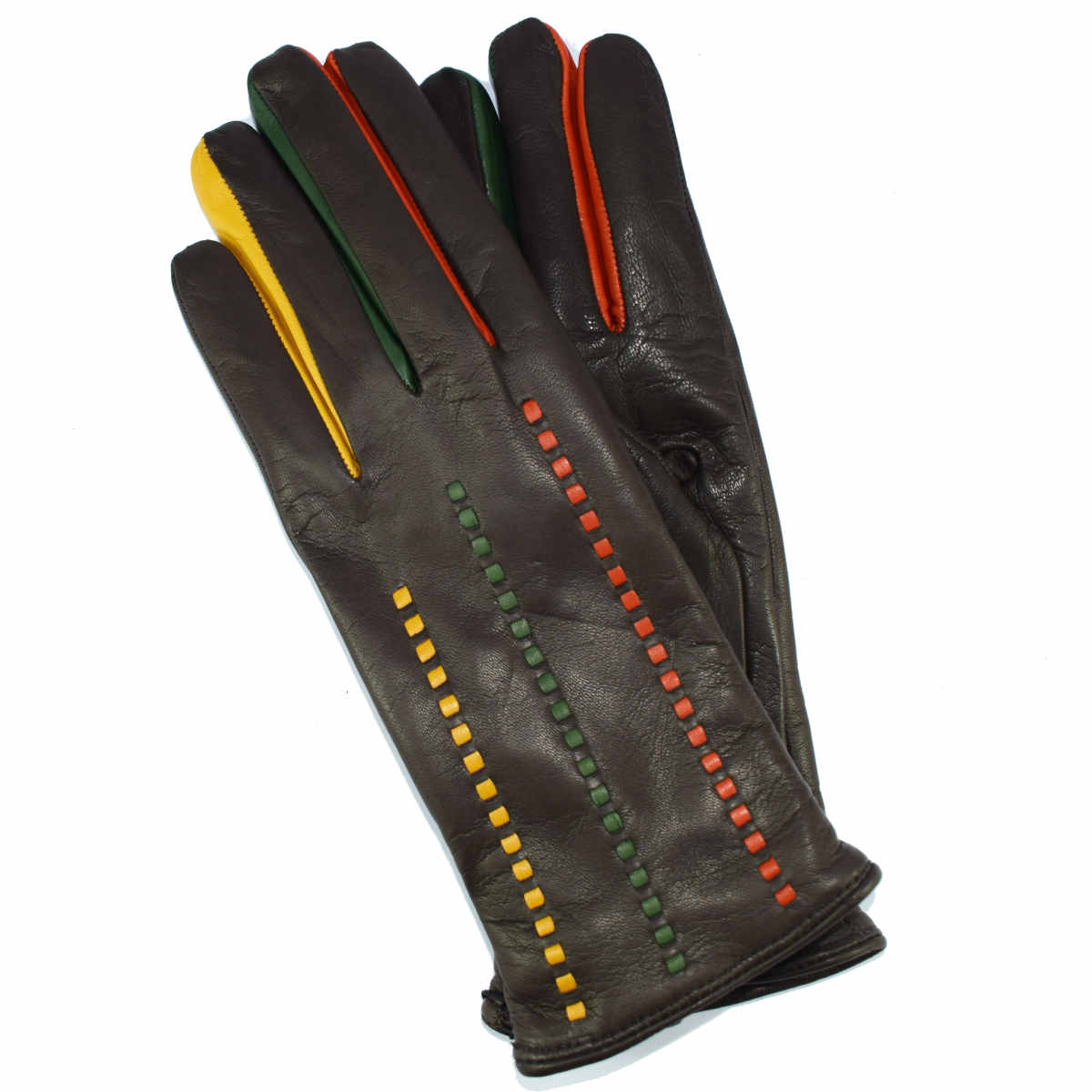 5H23 MULTICOLOR WOMAN GLOVE by Bottega Fiorentina
