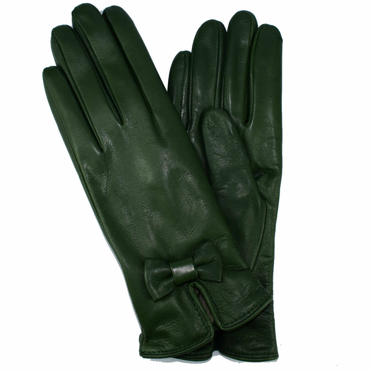 5F48 WOMAN GLOVE WITH BOW by Bottega Fiorentina