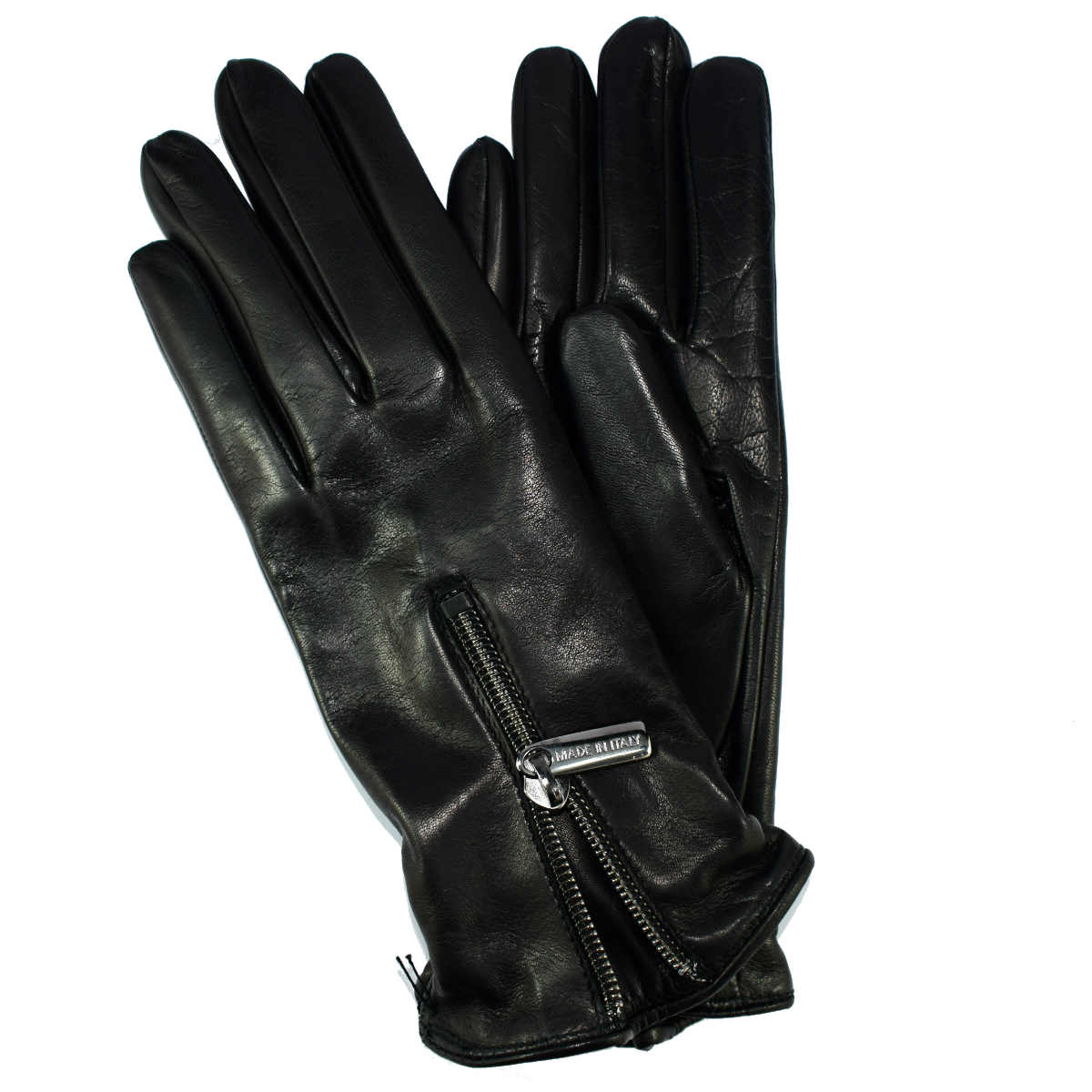 5B23 WOMAN GLOVE WITH ZIP by Bottega Fiorentina