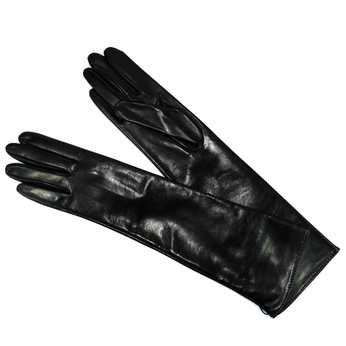58P LONG LEATHER GLOVE by Bottega Fiorentina