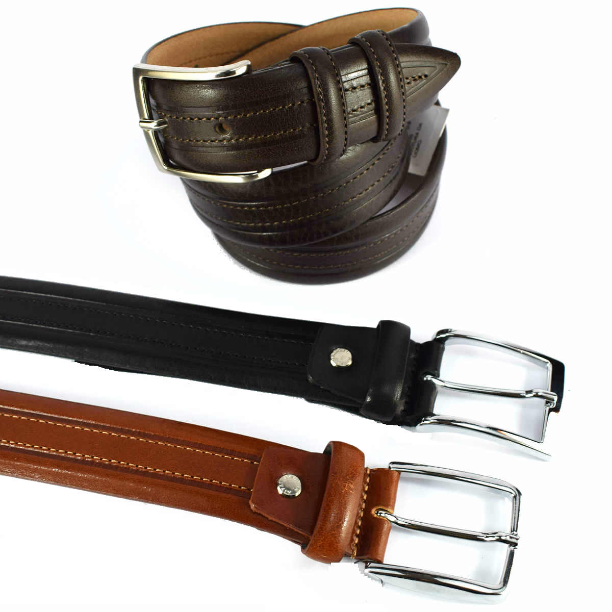 6448535 MEN'S BELT by Bottega Fiorentina