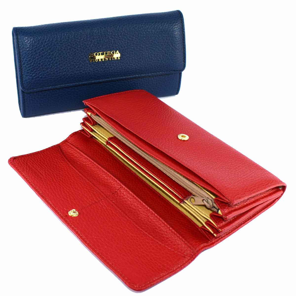 1692 WALLET MULTI POCKETS by Bottega Fiorentina