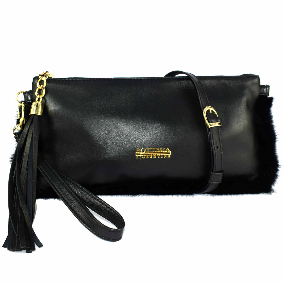 1708 BAG WITH HANDLE AND SHOULDER by Bottega Fiorentina