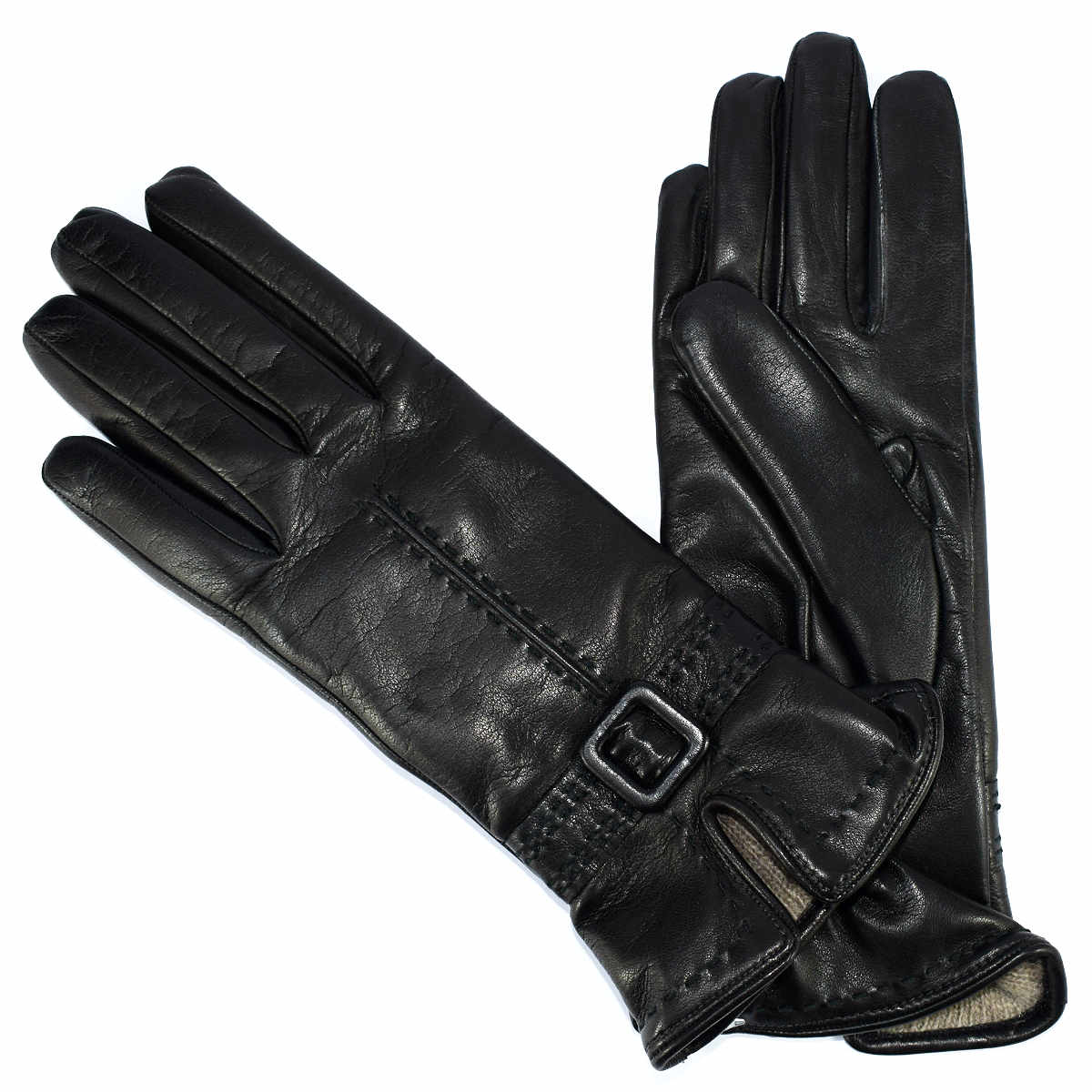 8PR91 NAPPA WOMAN GLOVE WITH BUCKLE by Bottega Fiorentina