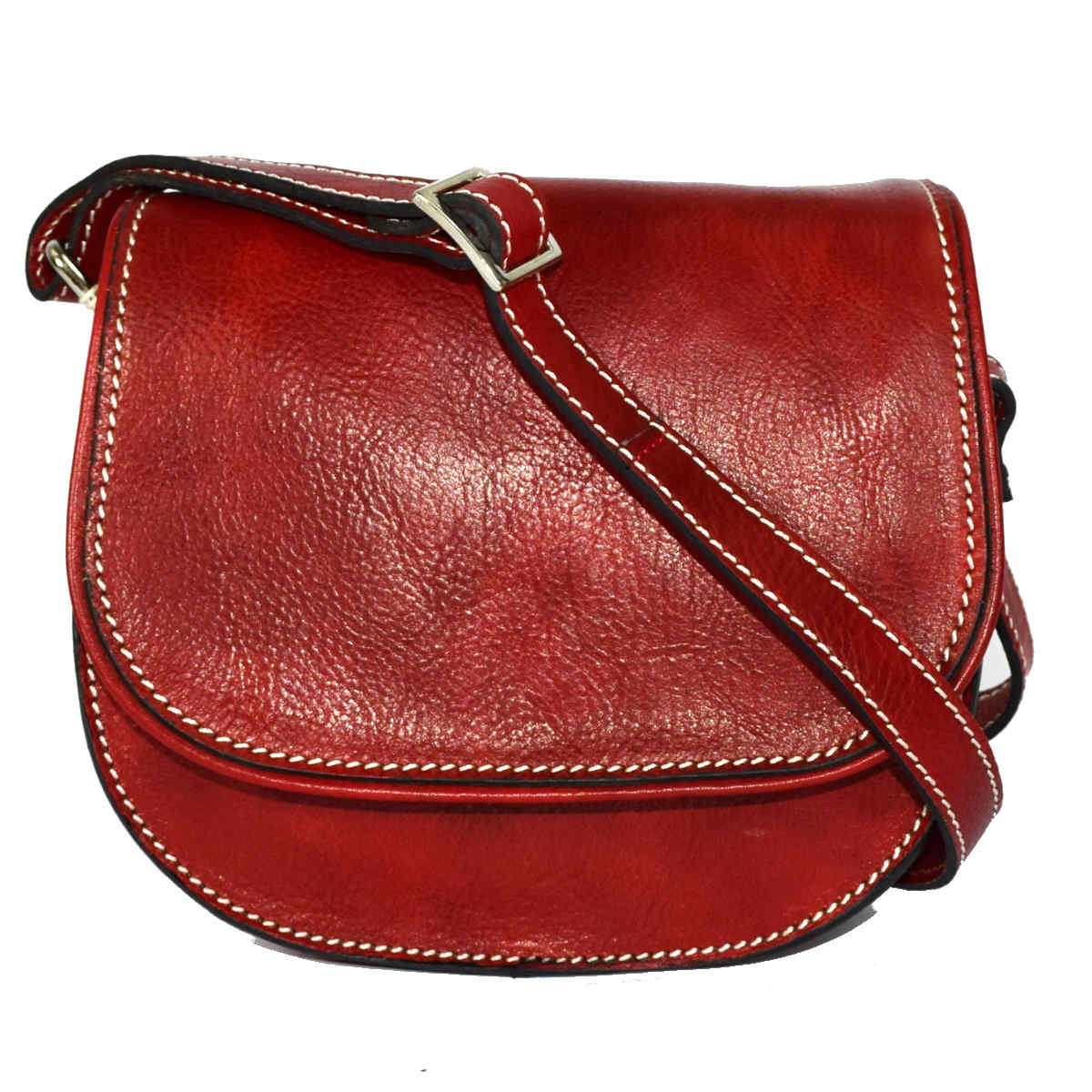 24583 BAG WITH FLAP ROUNDED by Bottega Fiorentina