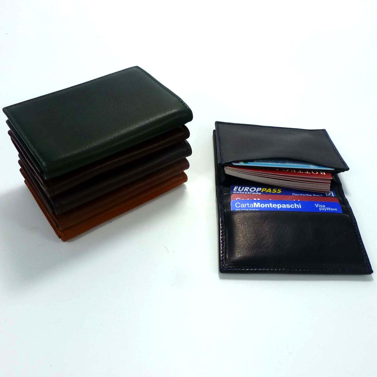 1331 Business Card Holder by Bottega Fiorentina
