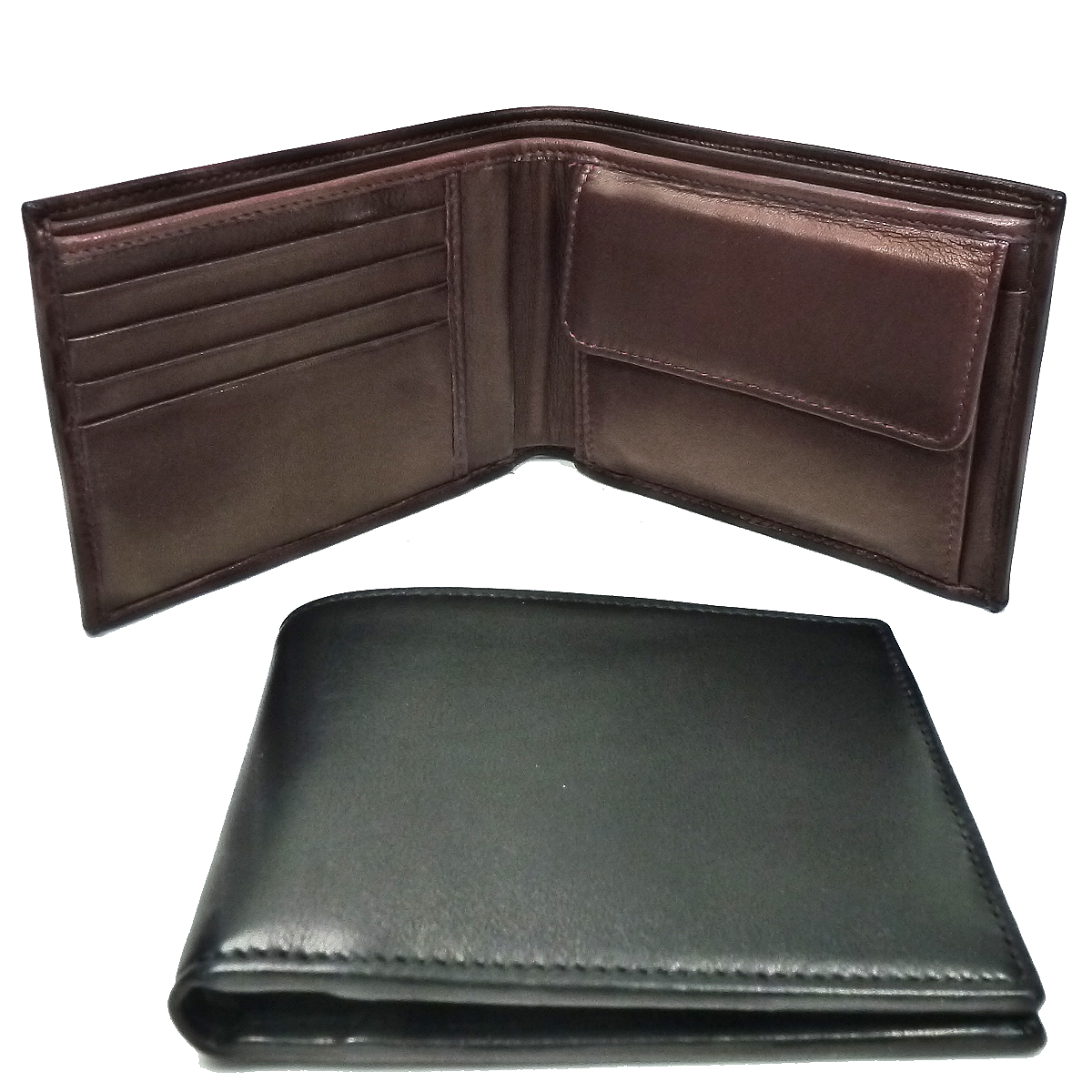 1398 men's wallet with coin purse by Bottega Fiorentina
