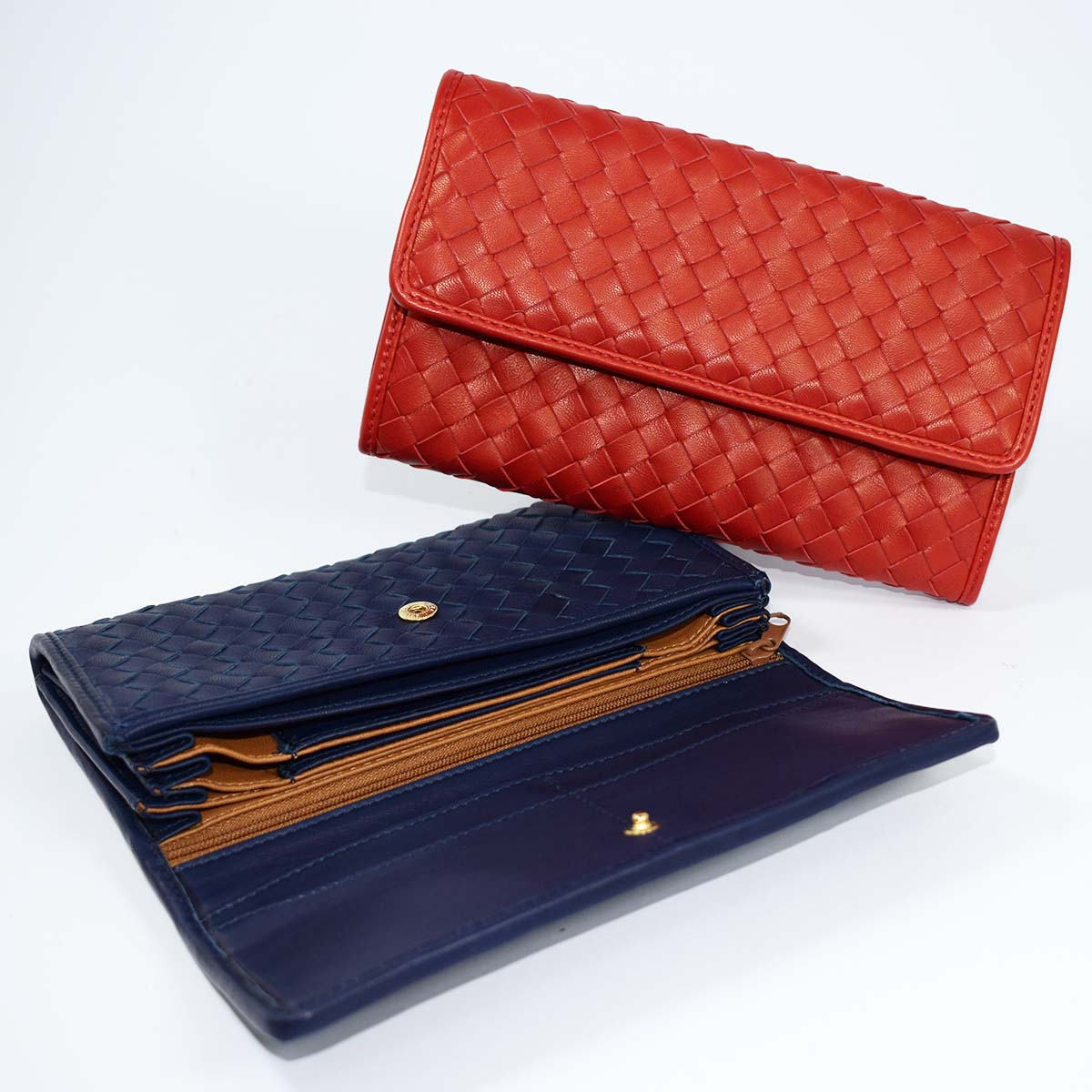 1692 WALLET WITH BELLOWS by Bottega Fiorentina